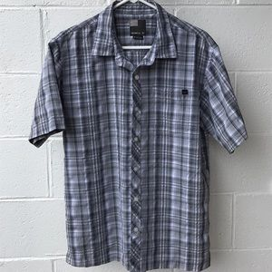 O'Neill, short sleeved, button down, casual shirt